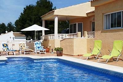 Villa Sierra Verde Polop Alicante