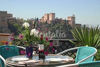 En frente del Alhambra - Albaicin, Granada-V...