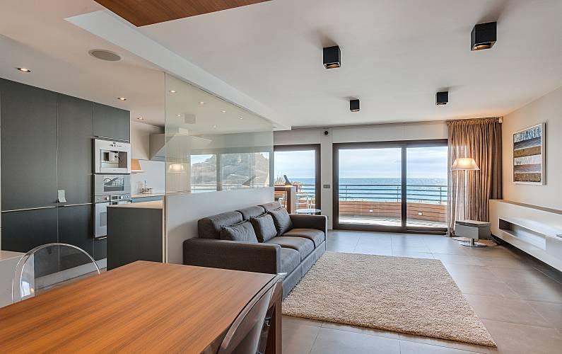 Exklusives Luxus Design Und Erste Strandlinie Girona   Wohnzimmer
