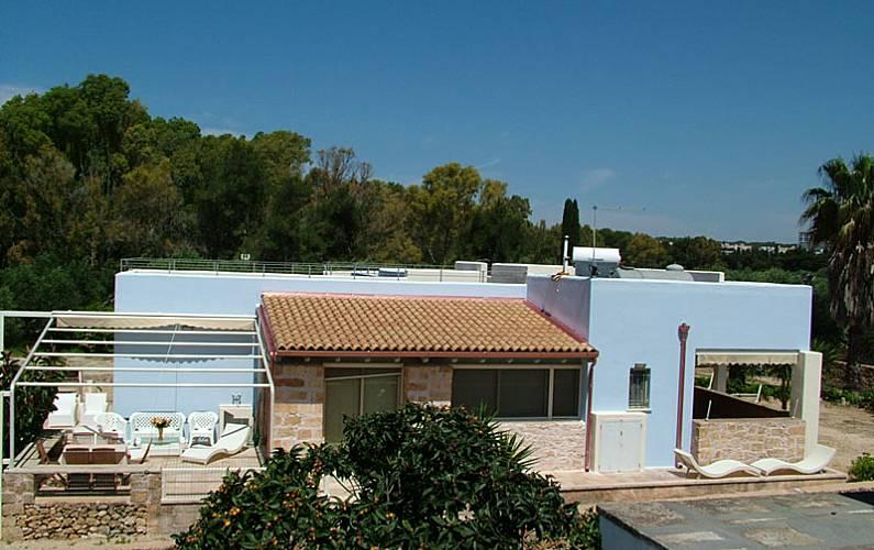 Villa para 8 personas a 200 m de la playa Lecce - Exterior del aloj.