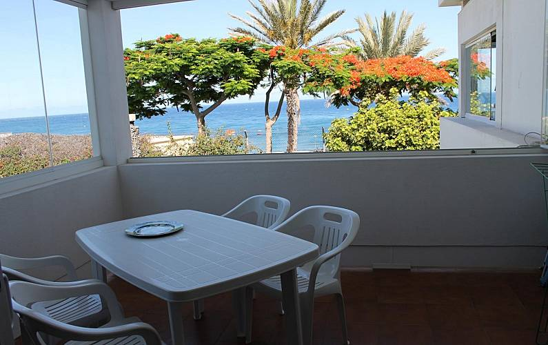 Apartment for 2-4 people first row Gran Canaria - Terrace