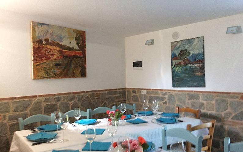 Vivenda Sala de Jantar Luca Pescaglia Villa rural - Sala de Jantar