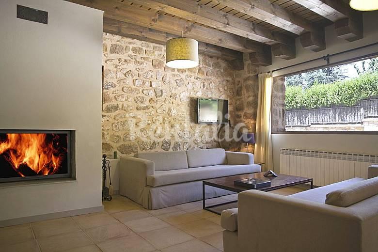 Habitacion habitaciones en soria : Casa Rural Albada I y II, para 4-12 personas - Pedrajas ...