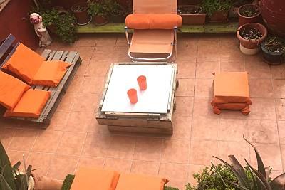 Bonita casa con terraza & Wifi Navarra