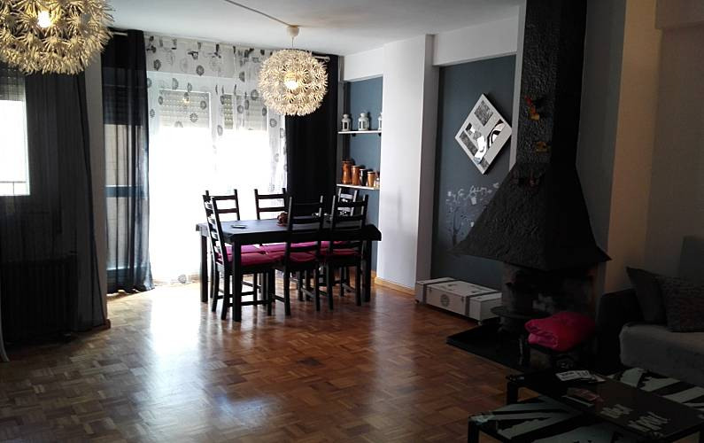 Apartment 7 persons + babies and pets, Jaca Huesca - Living-room