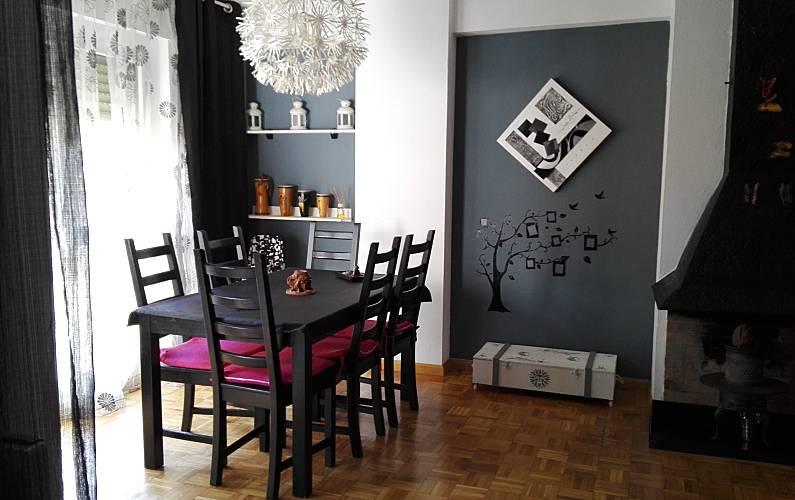 Apartment Living-room Huesca Jaca Apartment - Living-room