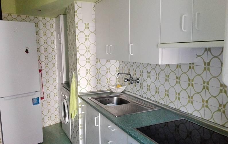 Apartment Kitchen Huesca Jaca Apartment - Kitchen
