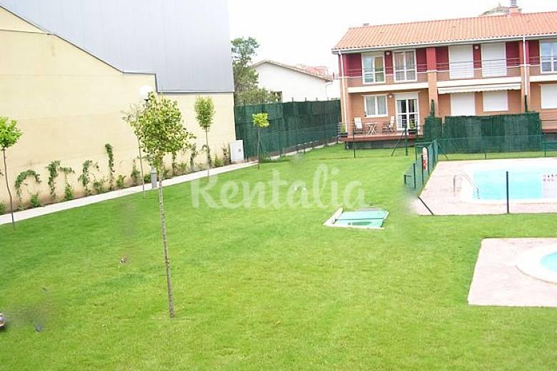 Casa en alquiler con piscina alesanco rioja la for Casas vacacionales con piscina