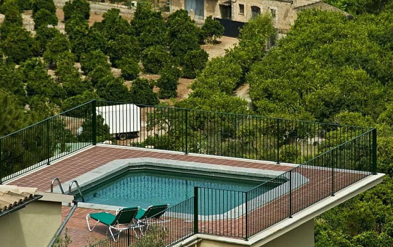 Wã¤Schetrockner Balkon   Villa Fur 1 10 Personen In Soller Soller Mallorca Serra De