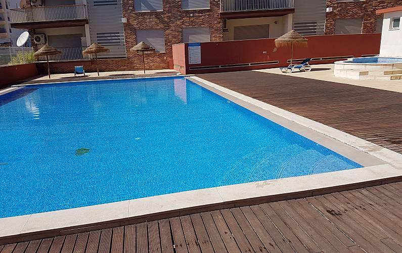 Apartamento para alugar a 450 m da praia Algarve-Faro - Piscina