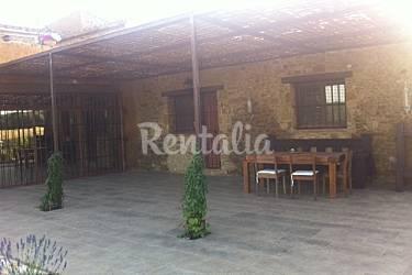 Villa Parte esterna della casa Girona Ullastret Villa di campagna