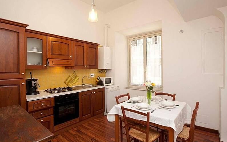 wohnung f r 7 personen in rom stazione rom rom. Black Bedroom Furniture Sets. Home Design Ideas