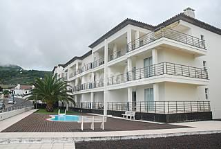 Apartamento para 2 ou 4 pessoas a 50 m da praia Ilha de São Miguel