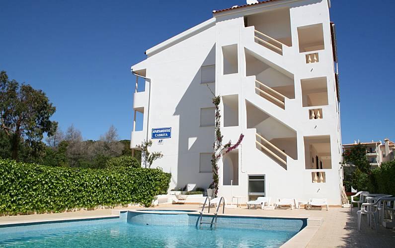Apartamentos de 1 e 2 quartos 500 m da praia Algarve-Faro - Exterior da casa