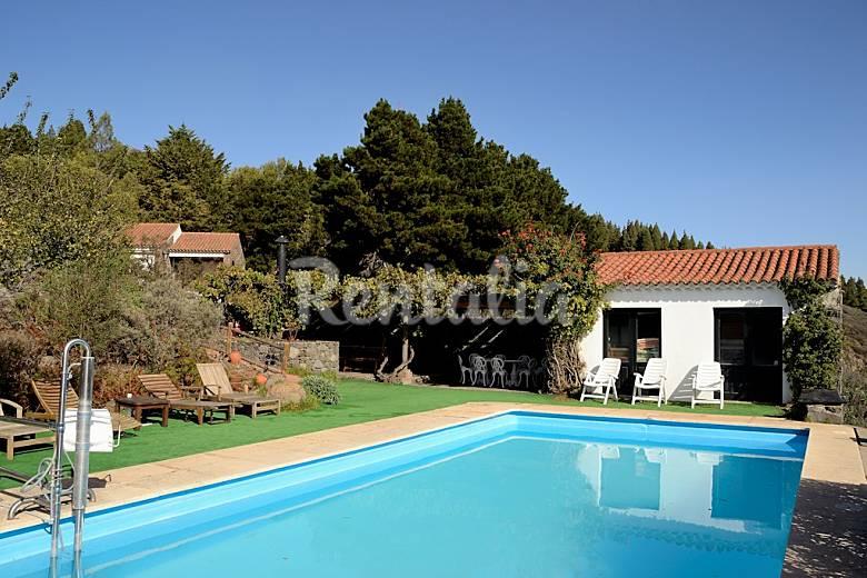 Villa en alquiler con piscina galas vega de san mateo gran canaria - Villas en gran canaria con piscina ...