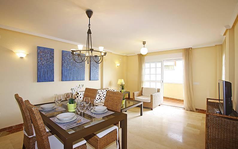 Apartamento para 4-6 pessoas a 50 m da praia Málaga - Sala