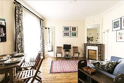 Apartamento para 3 personas en Paris-15e París