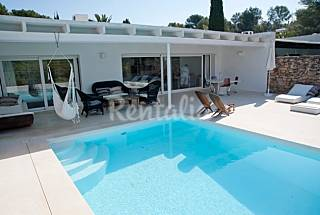 Modern house at the golf course with private pool Ibiza