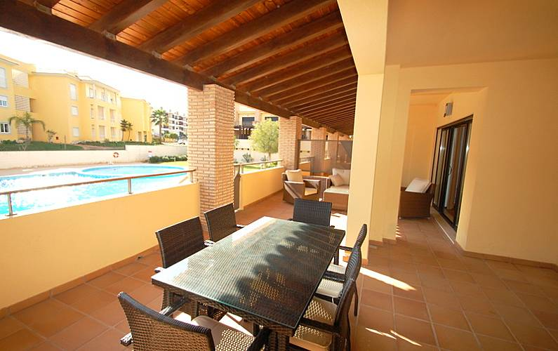 Maravilhoso Terraço Algarve-Faro Loulé Apartamento - Terraço