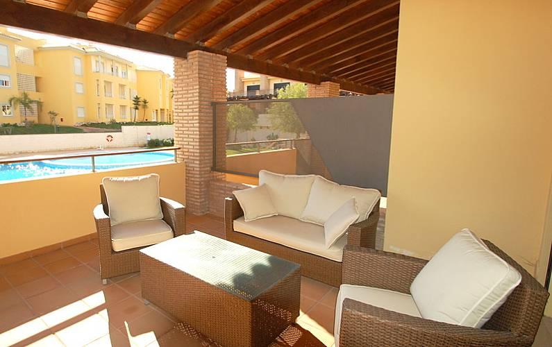 Maravilhoso t2 em Vilamoura Algarve-Faro - Terraço
