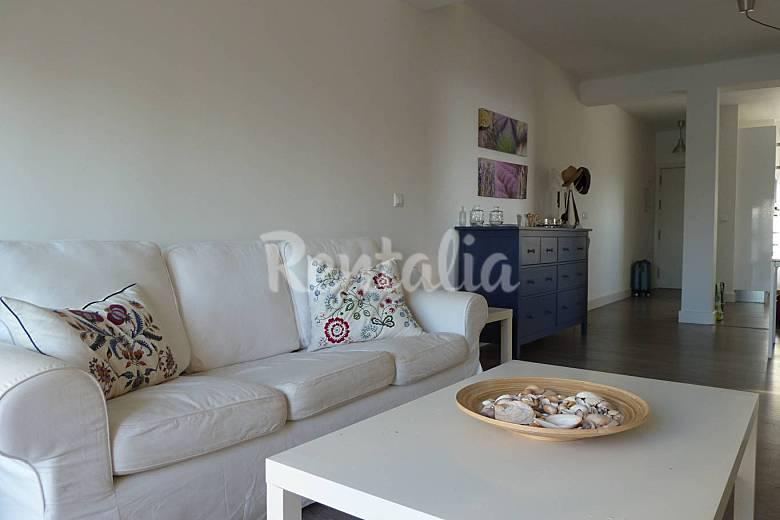 Apartamento para 5 personas a 10 m de la playa tarifa - Decorar apartamento playa ...