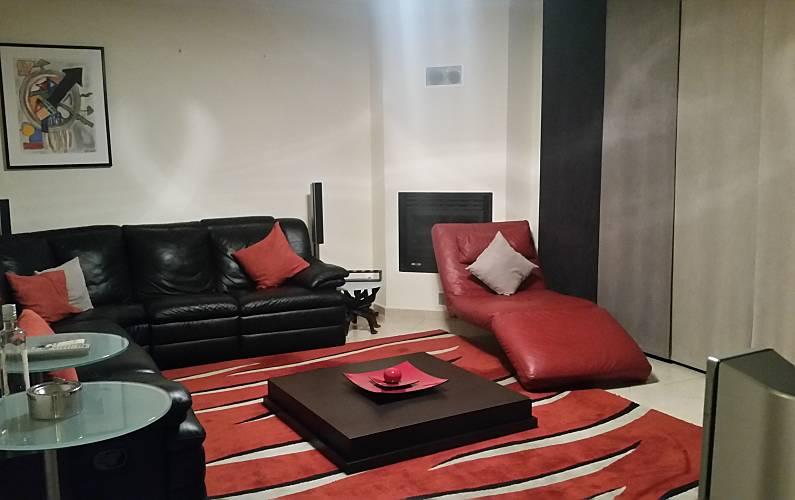 T2 Sala Algarve-Faro Olhão Apartamento - Sala