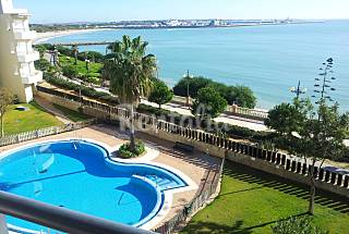 Vistas al mar, piscina,internet,aire acondicionado Cádiz