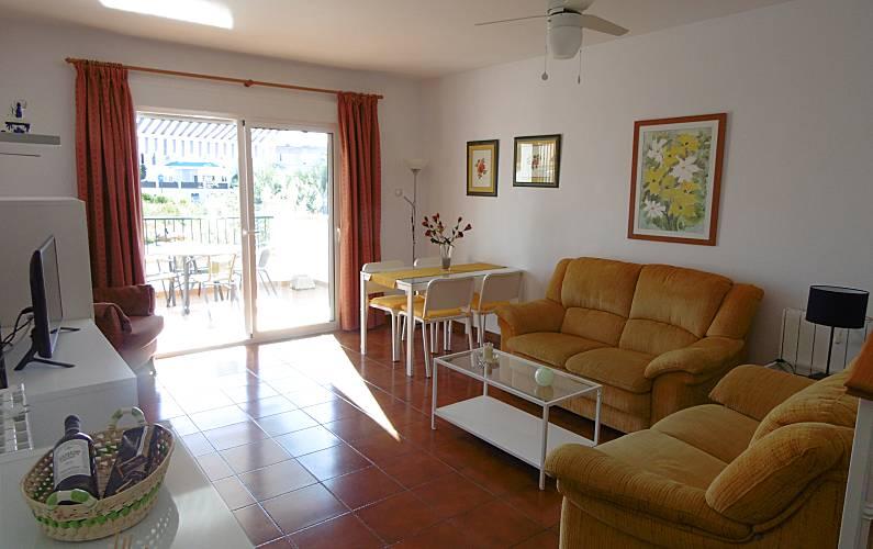 House Living-room Málaga Nerja House - Living-room