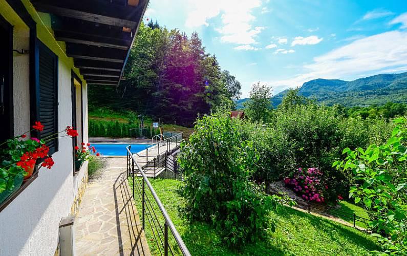 Villa Southeast Slovenia Kostel Countryside villa -
