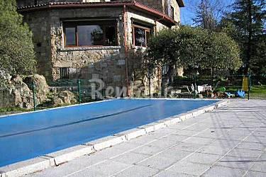 Casa para 6 8 personas con piscina galapagar madrid for Piscina galapagar