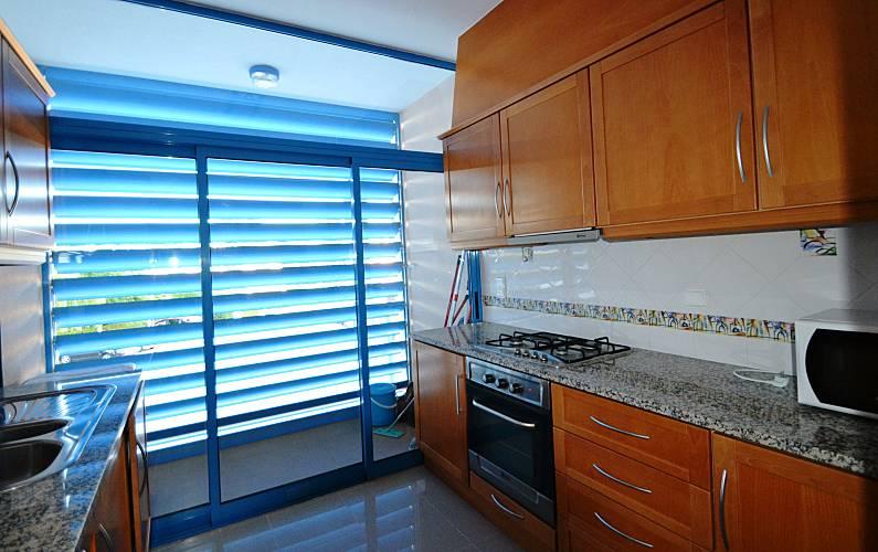 Magnifico Cozinha Algarve-Faro Loulé Apartamento - Cozinha