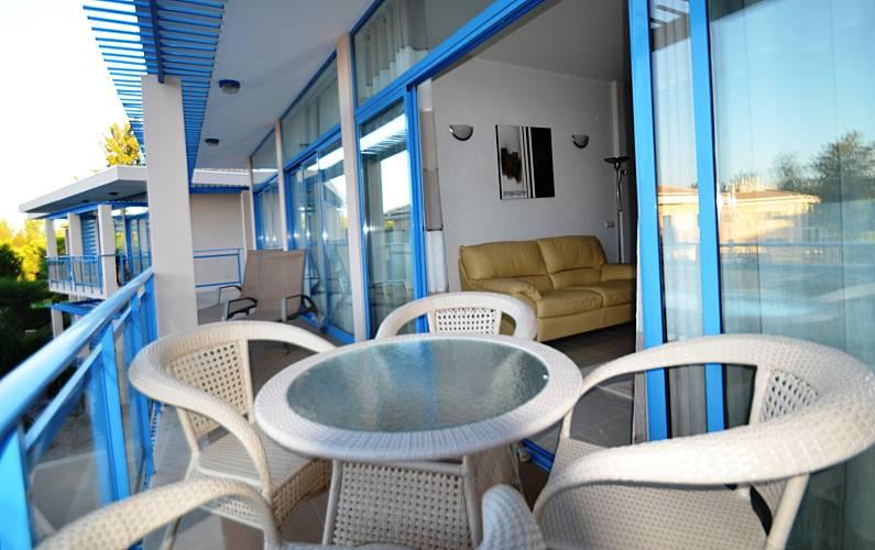 Magnifico T2 Vilamoura Algarve-Faro - Terraço