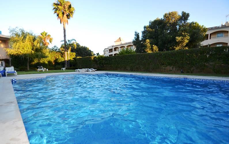 Magnifico Piscina Algarve-Faro Loulé Apartamento - Piscina