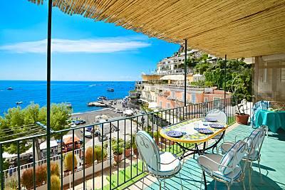 Casa en alquiler en 1a línea de playa Salerno
