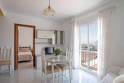 Apartamento com 2 quartos a 500 m da praia Málaga