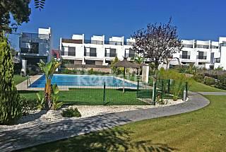 Casa, residencial privado, 300m playa, piscina com Cádiz
