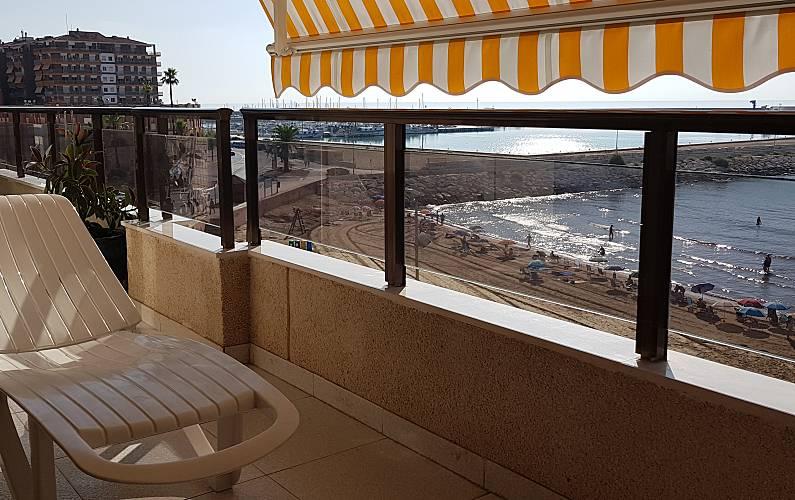 Terraza Castellón Vinaròs Apartamento - Terraza