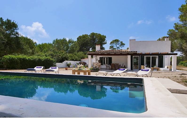 House with 2 bedrooms only 200 meters from the beach Majorca -