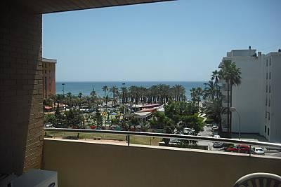 Apartamento para 4-7 personas en 1a línea de playa Málaga
