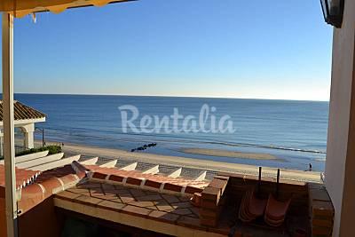 Magnífico ático en primera línea de playa Huelva