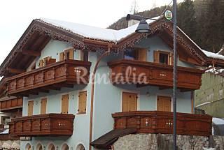 Apartamento para 4-8 personas Canazei Trento