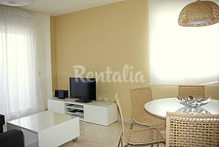 Bright apartment about 10 min walking to the beach Málaga