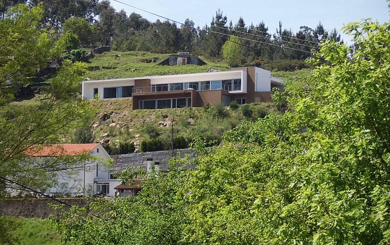 Casa para 8 pessoas a 15 km da praia Viana do Castelo - Exterior da casa