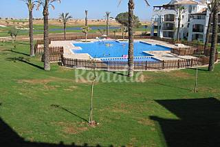 Apartment for 4-5 people in a golf course Murcia