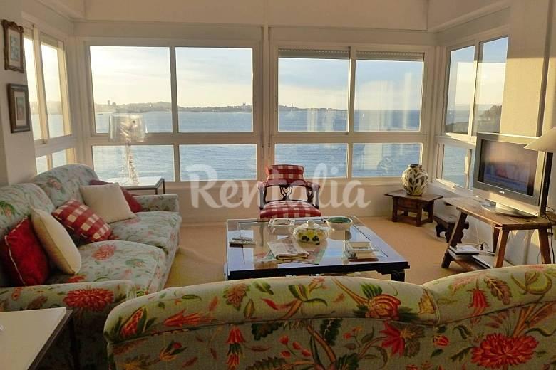 Apartment Living-room A Coruña Oleiros Apartment
