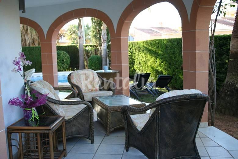 House Terrace Valencia Oliva villa