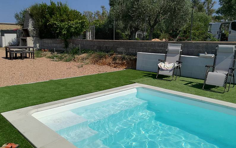 House Swimming pool Ogliastra Cardedu Apartment - Swimming pool