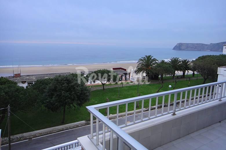 Apartamento en alquiler en 1a l nea de playa comillas cantabria camino de santiago del norte - Apartamentos en cantabria playa ...