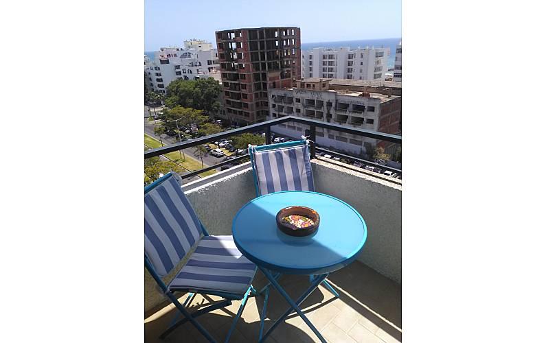 Piso Terraza Algarve-Faro Loulé Apartamento - Terraza