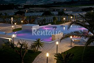 Villa for rent with swimming pool Agrigento